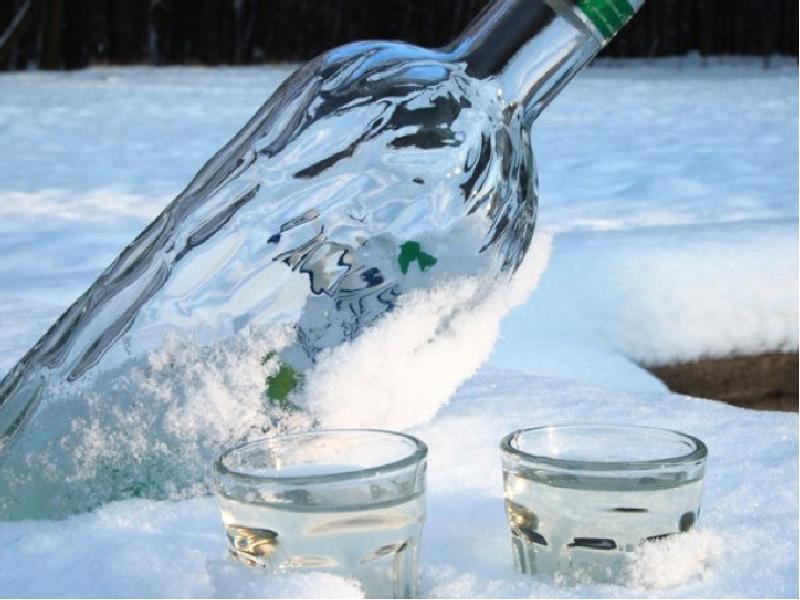 Житель Забайкалья пожаловался на замерзающую водку