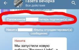 Сити-менеджер Читы Сапожников завел Telegram и первым делом подписался на «Вечорку»