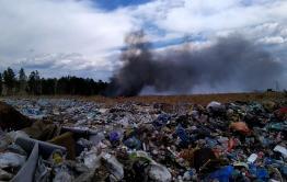 Вечорка ТВ: Пожар на свалке под Читой