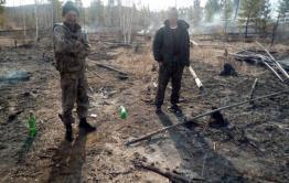 Приятели из Курорта Дарасун решили пожарить шашлыки и устроили лесной пожар