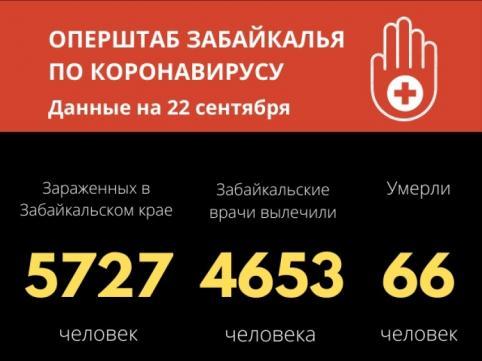 В Забайкалье зарегистрировали еще один летальный случай от COVID-19