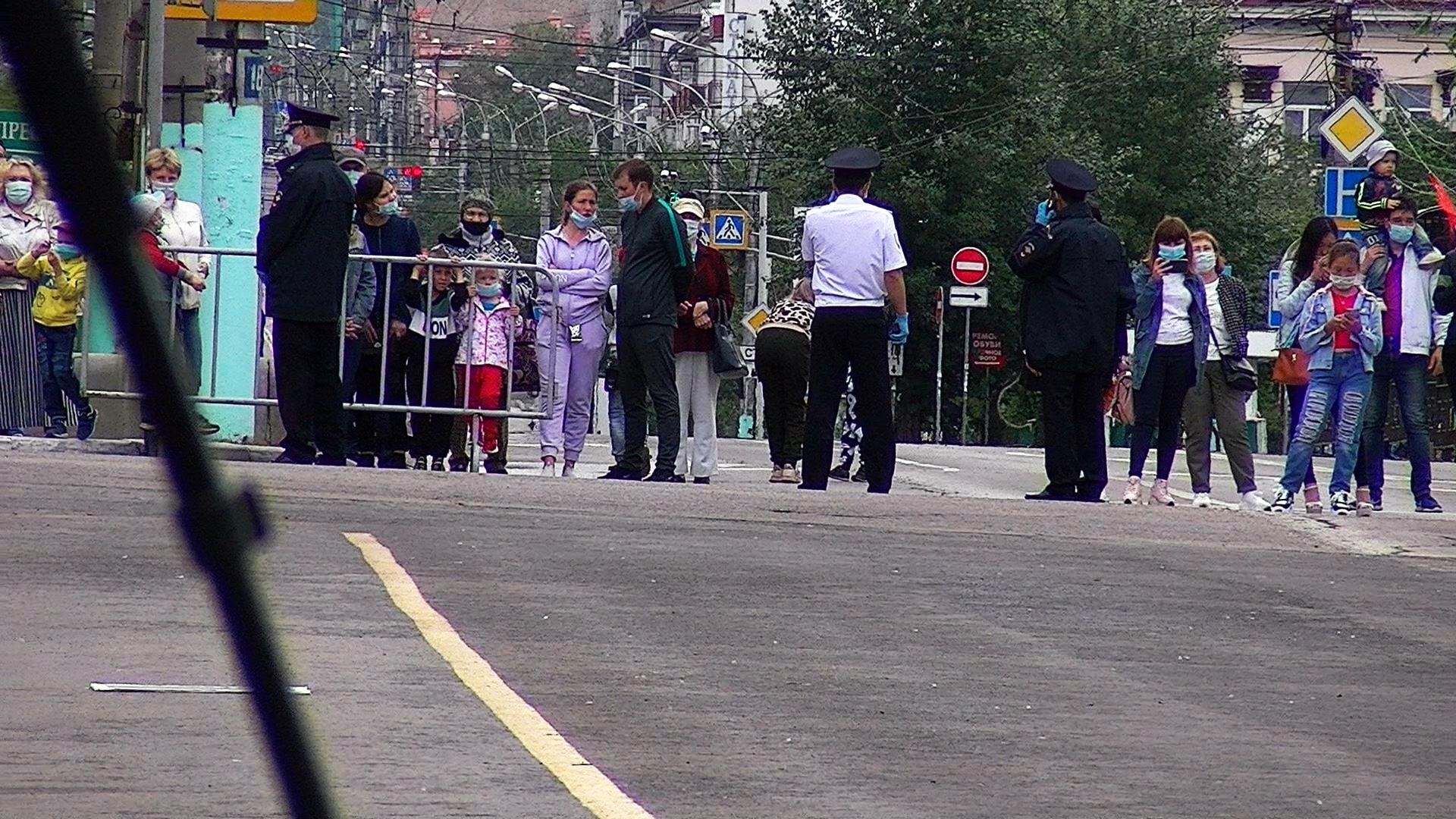 Парад Победы в Чите — непонятно зачем, непонятно для кого