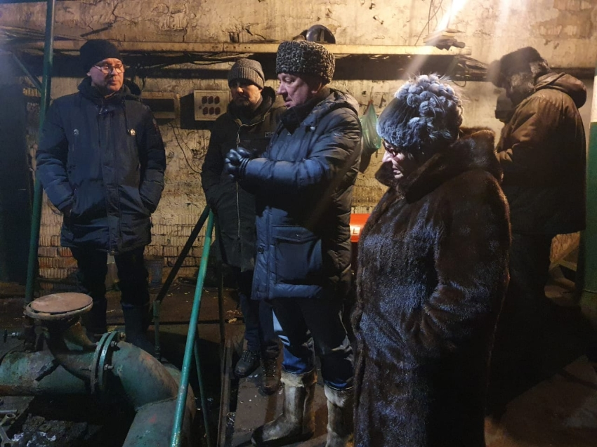 Температура в домах и соцобъектах села Маккавеево восстановится в течение суток