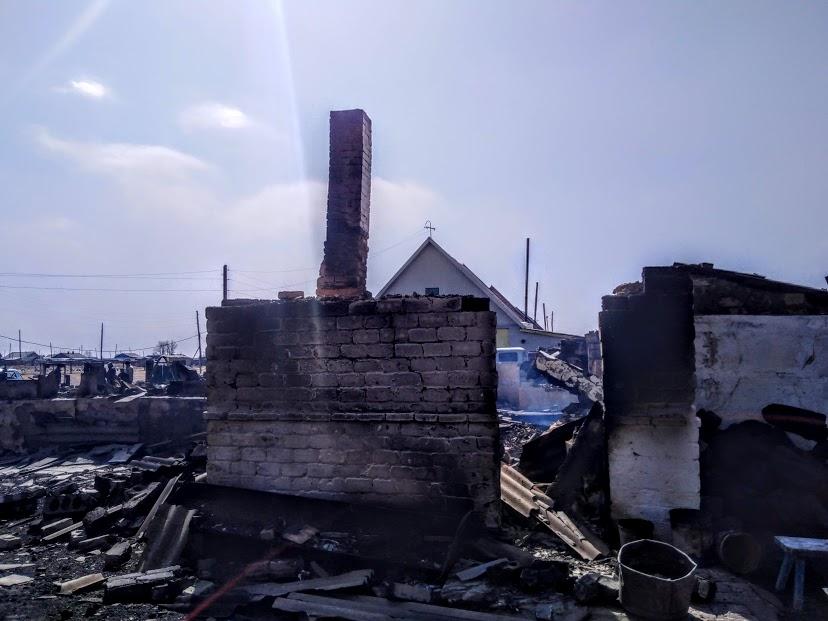 Власти Забайкалья намерены до 15 июня купить жилье всем погорельцам