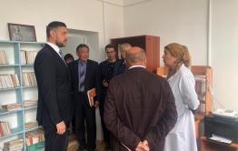 Осипов поручил починить протекающую крышу в больнице в селе Тупик. Ранее больницу отремонтировали за 20 млн. руб.