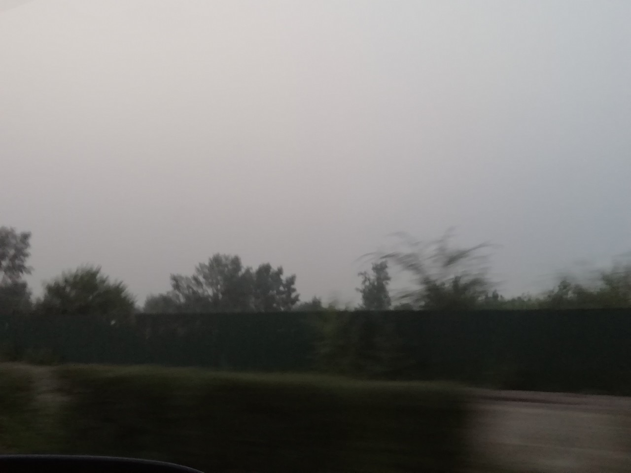 Дым от сибирских пожаров накрыл Читу. 31 июля 2019 г.