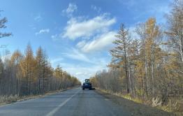 Дорогу к селу Беклемишево в Забайкалье почти отремонтировали