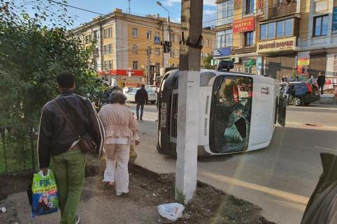Во вчерашнем ДТП с маршруткой виноват водитель Toyota Probox - УМВД