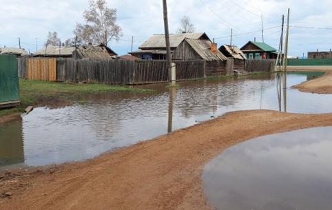 Вышедшая из берегов река затопила Беклемишево