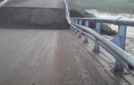 Более 3 тысяч жителей Красночикойского района остались без автомобильного сообщения из-за обрушения моста