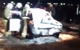 Машину с двумя трупами вытащили из Шилки в Приисковом