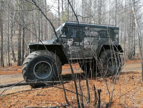 Таежный тест-драйв, или как красноярский внедорожник сломался в забайкальской тайге