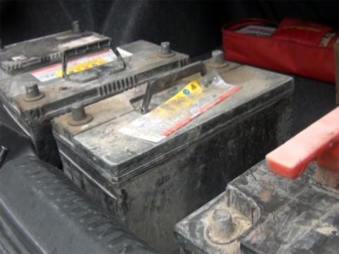 В Чите задержаны «серийные» похитители аккумуляторов