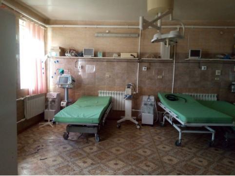 Койки для больных COVID-19 развернули в Борзе