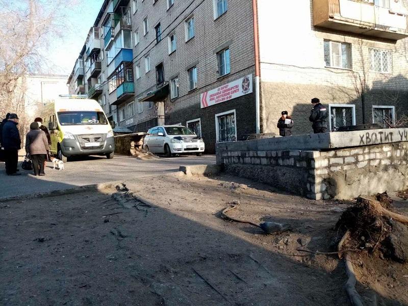 Улицу Хабаровскую в Чите перекрывали. ТЦ
