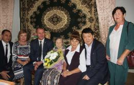 Читинка отметила свой 100-летний юбилей