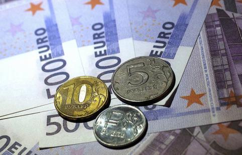 Курс евро превысил 93 рубля впервые с 2016 года