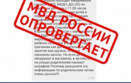 Забайкальские полицейские просят не верить фэйковым сообщениям о проведении рейдов по детям