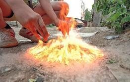 Пожарные семь раз за неделю тушили тополиный пух в Чите