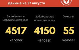 24 человека заразились коронавирусом за сутки в Забайкалье