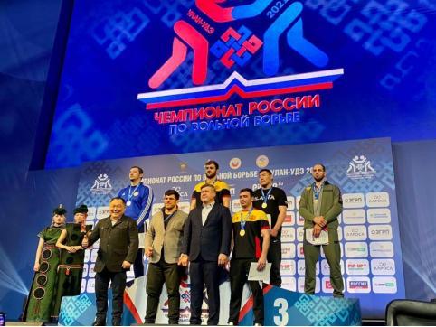 Борец из Забайкалья выиграл бронзу чемпионата России