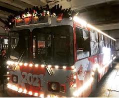 """Троллейбусное депо к празднику готово. Фото из группы """"Вся Чита"""""""