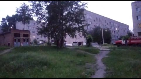 Оцепление вводили в Первомайском из-за игрушечной гранаты (видео)