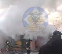 Пенсионер сгорел в Чите при пожаре
