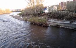 В краевой столице ожидается подъем уровня воды реки Читинка
