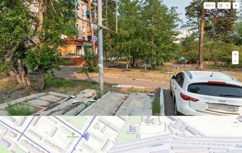 Пивнушку поставили прямо напротив детской площадки в Чите