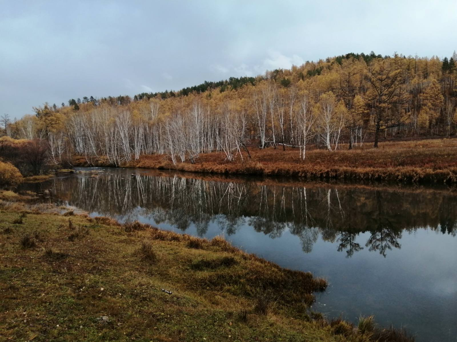 Осень в Заяблонье. Где-то на северах
