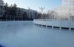 В Чите 12 декабря откроются катки на площадях Ленина и Труда