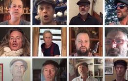 Хор из Австралии исполнил «На поле танки грохотали» в условиях самоизоляции – видео