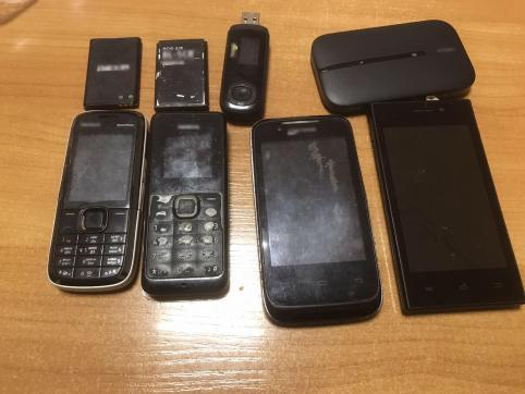 Сотовые телефоны пытались доставить в ИК-3 в Чите