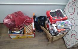 Три забайкальца увидели открытый магазин и украли из него детские игрушки