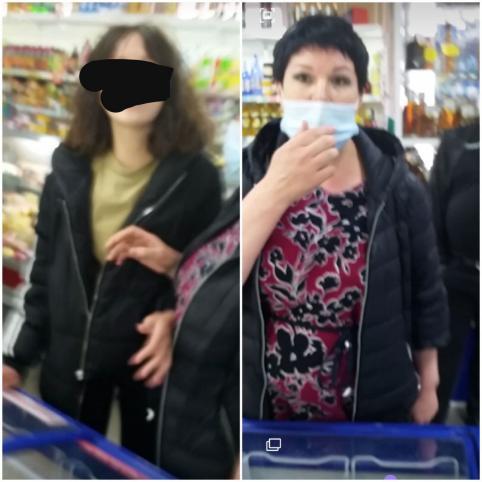 Посетительницы магазина на Острове устроили дебош из-за просьбы надеть маски (видео)
