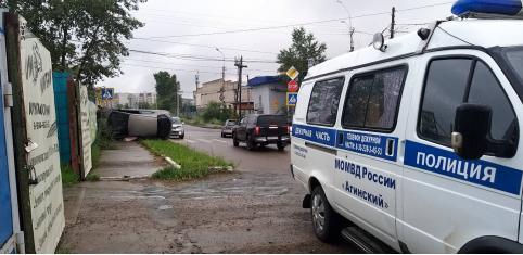 ДТП с участием полицейской «Газели» произошло в Чите