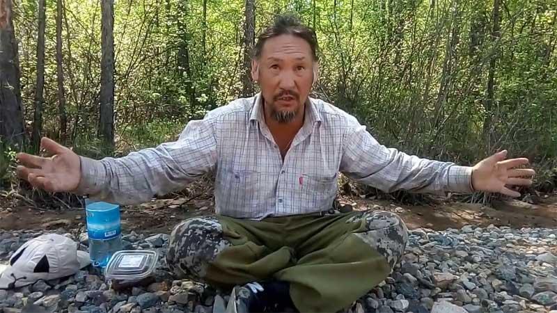Псевдо-шаман Габышев объявил о новом походе на Москву
