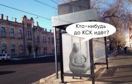 Избушка, избушка: Автобусную остановку в Чите поставили задом к дороге. Мэрия обещает развернуть ее к концу недели.