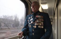 Ветераны ВОВ смогут пожизненно бесплатно ездить на поездах
