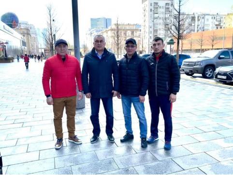 Борцы из Забайкалья встретились с сенатором Жамсуевым