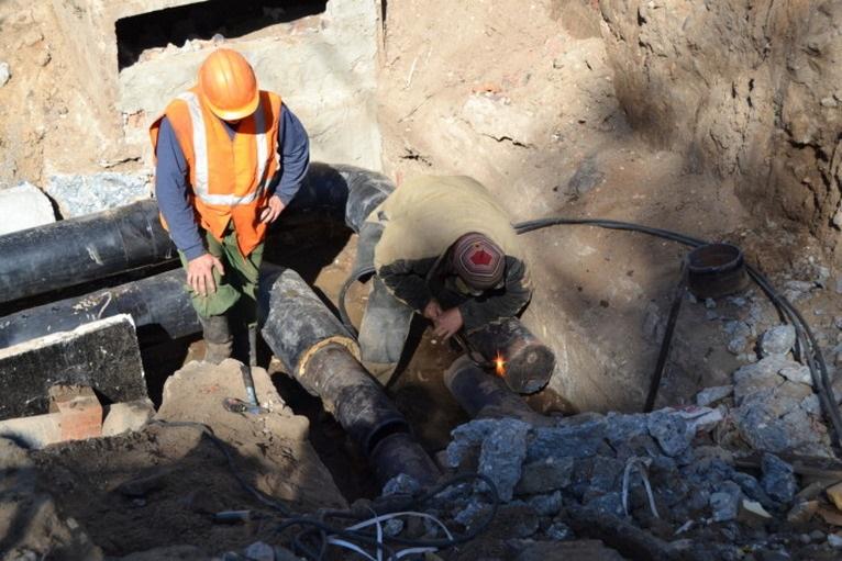 В Чернышевске завершены ремонтные работу на теплотрассе