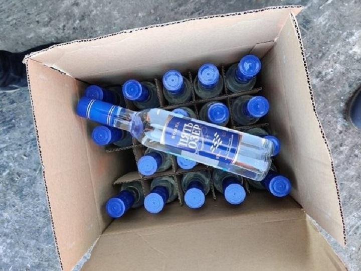 10 тонн поддельной водки хотели продать в Чите