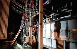 Энергетики всю ночь восстанавливали работу на подстанции в Чите. Свет обещают вернуть в течение получаса.