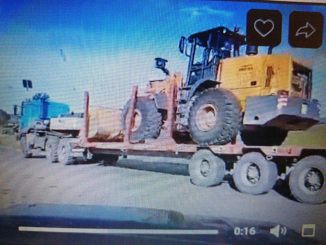В Балейском районе второй день вывозят технику черных копателей (видео)