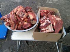 В Первомайске мясо -270 рублей, а в Балее - 250