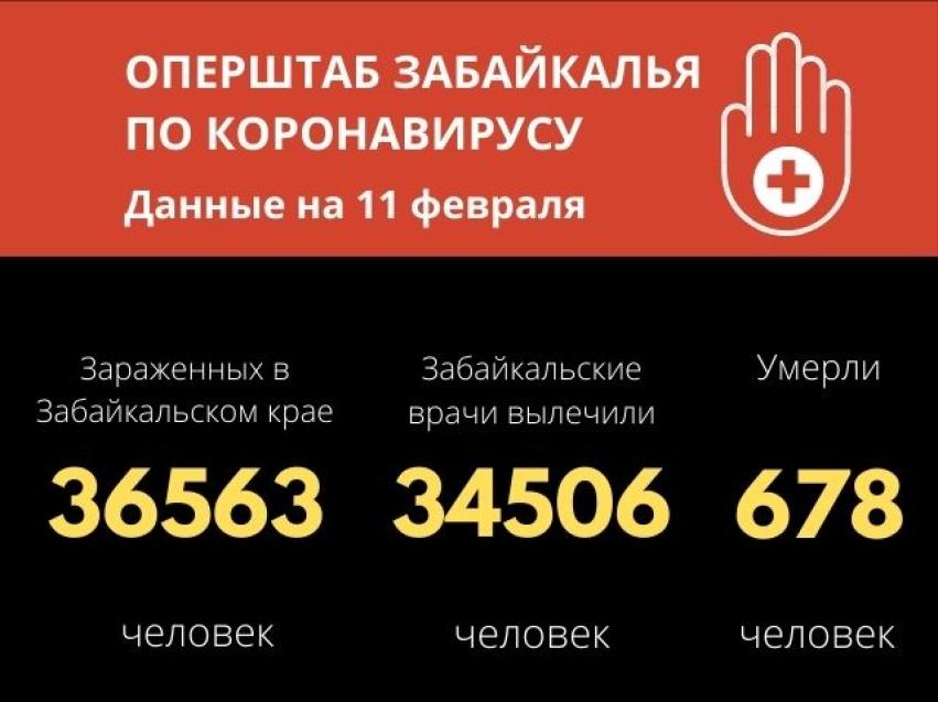 Число выздоровевших от COVID-19 забайкальцев превысило 34 тысячи человек