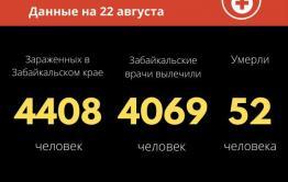 В Забайкалье зарегистрировано 20 новых случаев заражения коронавирусом