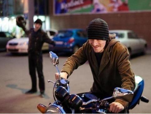 Забайкалец угнал уже угнанный мотоцикл