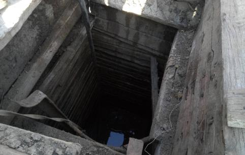 На ст. Мациевская найден колодец, в который скидывали трупы